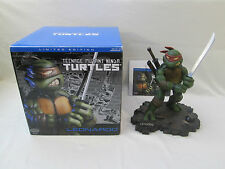 TMNT Teenage Mutant Ninja Turtles Leonardo Statue Limited Edition Playmates 2002