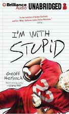 Reinstein Brothers: I'm with Stupid 3 by Geoff Herbach (2013, CD, Unabridged)