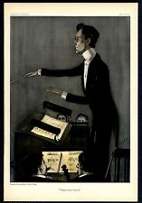 CONDUCTOR OF THE IMPERIAL OPERA CARL MUCK CONDUCTING WAGNER OPERA SHEET MUSIC