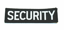 Woven Security Badges, Uniform, Door Supervisor, SIA, Security Guard, Doorman