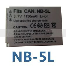 Battery for NB-5L CANON PowerShot SX230 HS SX220 HS SD870 SD900 SD950 960 IS NEW