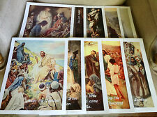 "Set of 10 Posters ""Life of Christ"" for Your Sunday / Christian School Classroom"