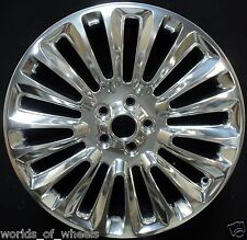 "Lincoln MKZ  2013 2014 2015 Polished 19"" Factory OEM Wheel Rim 3954 98551 U80"