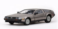 Sun Star De Lorean DMC 12 Coupe Stainless Steel Finish 1981 1/18
