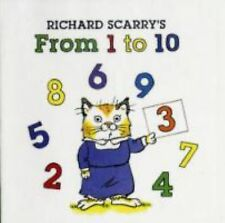 Richard Scarry's from 1 To 10 by Richard Scarry (2008, Board Book)