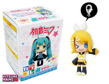 Vocaloid Hatsune Miku Color Colle Kagamine Rin Figure Charm Keychain Strap Movic