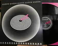 QUEEN - JAZZ LP - UK - ORIGINAL PRESS + POSTER