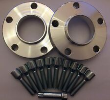 16mm SILVER HUB CENTRIC SPACERS + 10 X TUNER BOLTS FITS PORSCHE SEE LIST