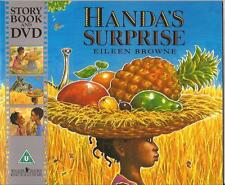 HANDA'S SURPRISE Children's Reading Picture Story Book & DVD by Eileen Browne