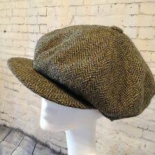 Stunning Lock & Co Royal Hatmakers Baker Boy 'Sandwich' Tweed Cap 7 1/8""