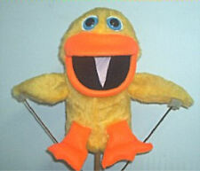 Yellow or Blacklight White Duck Ventriloquist Puppet w/ script ideas