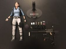 Hot Toys VGM 11 Biohazard 5 Resident Evil 5 Jill Valentine BSAA Complete Loose