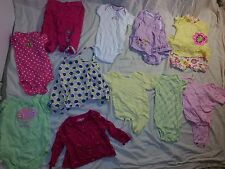 Lot of 49 6-9 mos Infant Onesies Rompers Snoopy Blankets Hats shoes socks HUGE