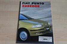 95834) Fiat Punto Zubehör Prospekt 11/1996