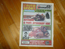 L'AUTO SPORTS MOTEUR NEWSPAPER MAGAZINE 1992 F1 SNOWMOBILES PLUS EXT INDY MOTO