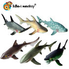 Shark Creature Toy Animal Figures set of 6 in a polybag