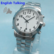 English Talking Watch for Blind People or Visually Impaired Low Vision