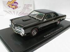 """Neo 46025 # Pontiac GTO hardtop año de construcción 1966 en """"negro"""" 1:43 novedad!!!"""