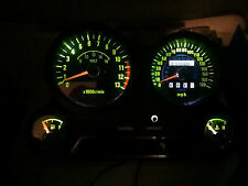 Blanco Kawasaki Gpz 600 900 LED Dash Kit de conversión de Reloj lightenupgrade
