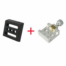 New!! Universal Telescope Small Dovetail Mounting Plate+Dovetail Clamp Silver YS