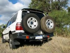 OUTBACK ACCESSORIES WHEEL CARRIER, TOYOTA LAND CRUISER 100 SERIES LIVE AXLE
