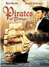 PIRATES OF TORTUGA KEN SCOTT DAVE KING  NEW DVD