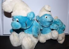 Vintage Smurf Plush dolls