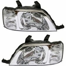 1997 1998 1999 2000 2001 HONDA CR-V HEADLIGHT LAMP LIGHT SET RIGHT AND LEFT PAIR