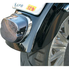 Drag Specialties LED Low Profile Taillight Harley Smoke Lens and No Tag Light