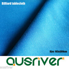 Brand New Wool Blend Durable Billiards Pool Snooker Tablecloth/Felt Sky Blue