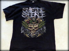Hot Topic Black Mens Suicide Silence Band T-Shirt Size Large 100% Cotton