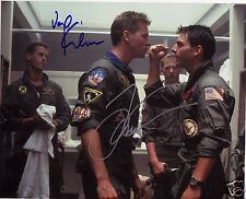 TOP GUN - TOM CRUISE & VAL KILMER AUTOGRAPH SIGNED PP PHOTO POSTER