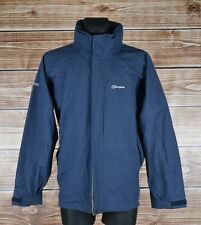 Berghaus Hidden Hood Aquafoil Men Jacket Coat Size L, Genuine