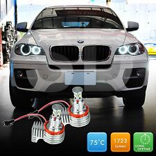 BMW LED Angel Eyes X1 E84 X5 E70 X6 E71 Pre-facelift H8 Bulb OBD Error Free