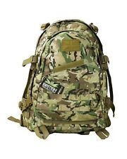 ARMY STYLE TACTICAL BTP / MTP CAMO MOLLE 45 LITRE SPECIAL OPS RUCKSACK DAYSACK