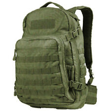 CONDOR #160 MOLLE Venture Pack Tactical Hiking Patrol Laptop Backpack OD Green
