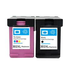 2 Non-OEM Ink Cartridge 302 XL for use in hp Officejet 4650 4651 4652 4654