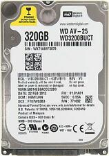 "Western Digital WD 3200 BUCT 320gb 2.5"" Sata per Laptop Hard Disc Drive HDD Garanzia"