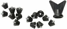 "Half Inch 1/2"" Plastic Football Replacement Cleats 14 Pack Fits Nike, UA, Adidas"