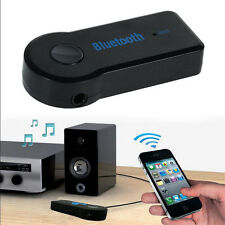 3.5mm AUX Audio Stereo Wireless Bluetooth  Music Home Car Receiver Adapter Mic