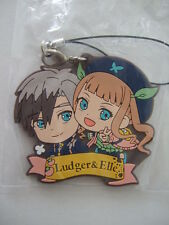 Ludger & Elle Rubber Strap Key Chain Tales of Xillia2 TOX2 BANPRESTO