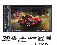 "AUTORADIO 2 DIN GPS MONITOR TV CD DVD STEREO 7"" TOUCHSCREEN BLUETOOTH MP3 USB SD"