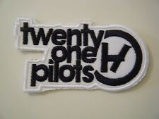 TWENTY ONE PILOTS PATCH Embroidered Iron On Rock Hip Hop Band Logo Badge 21 NEW