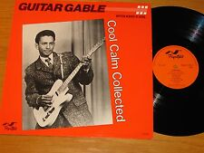"UK IMPORT MONO EXCELLO BLUES LP - GUITAR GABLE - FLYRIGHT 599 - ""COOL CALM..."""