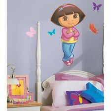 New Large DORA THE EXPLORER WALL DECAL MURAL Girls Bedroom Stickers Decorations