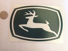 "Stk#4 John Deere Sticker, Bumper, Window Decal, 6""x4"", Peel & Stick, New. HiQual"