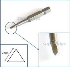 2mm Triangle Drill Bit Key Allen Repair Triangular Head Screw Screwdriver Hex