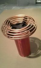 "2.5"" x 9"" Copper Tubing Toroid for Tesla Coils and High Voltage Project Aluminum"