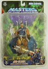 NECA MASTERS OF THE UNIVERSE MOTU SERIES 5 RIO BLAST PVC MINI-STATUE NEU & OVP