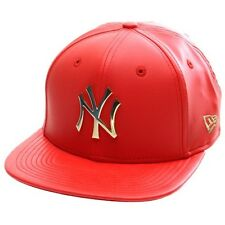 New Era Cap Co Metal Prime Original Fit 9FIFTY Snapback - NY Yankees Red/Gold
